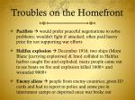 troubles on the homefront1