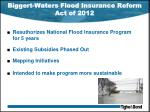 biggert waters flood insurance reform act of 2012