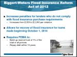 biggert waters flood insurance reform act of 20121