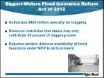 biggert waters flood insurance reform act of 20122