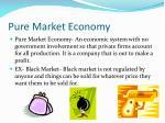 pure market economy