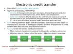 electronic credit transfer