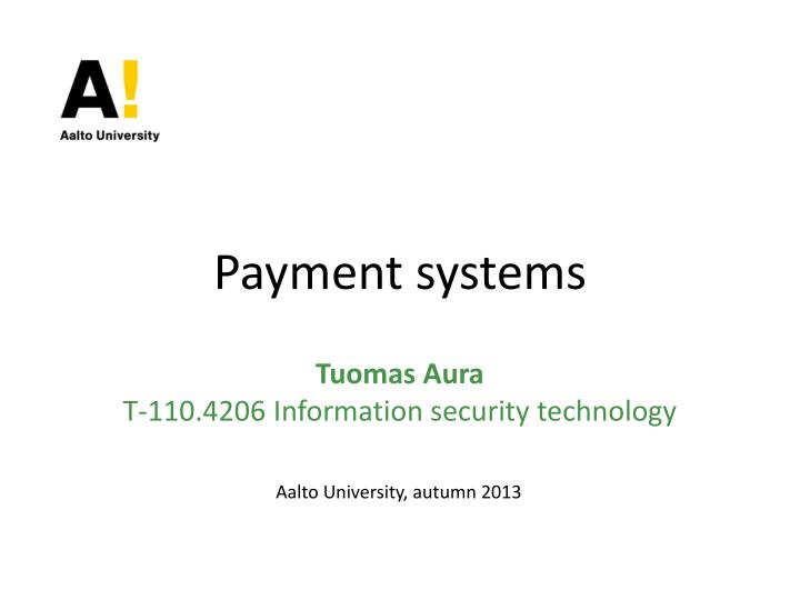 payment systems n.