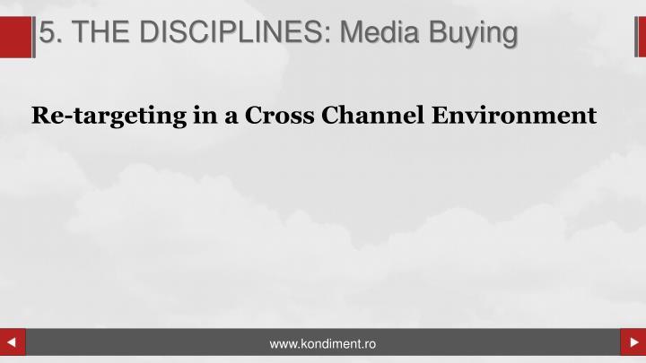 5. THE DISCIPLINES: Media Buying