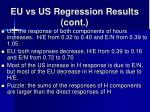 eu vs us regression results cont