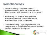 promotional mix1