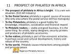 11 prospect of philately in africa