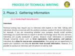 process of technical writing18