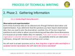 process of technical writing19