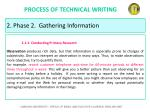 process of technical writing20