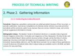 process of technical writing25