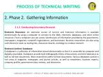 process of technical writing26