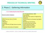 process of technical writing27