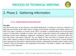 process of technical writing28