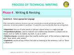 process of technical writing48