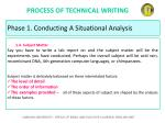 process of technical writing9