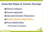 essential steps to carbon savings3