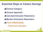 essential steps to carbon savings4