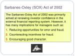sarbanes oxley sox act of 2002