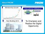 about pikom