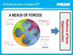 driving forces of future ict
