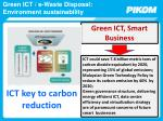 green ict e waste disposal environment sustainability