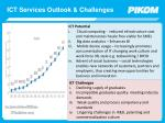 ict services outlook challenges