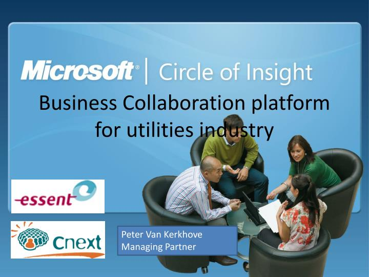 business collaboration platform for utilities industry n.