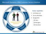 microsoft dynamics crm customer service solution