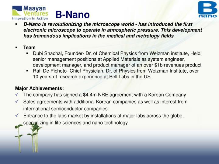 B-Nano