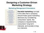 designing a customer driven marketing strategy8