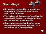 groundings
