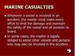 marine casualties