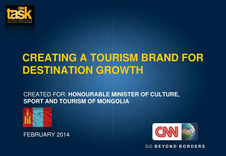 creating a tourism brand for destination growth n.