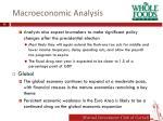 macroeconomic analysis1