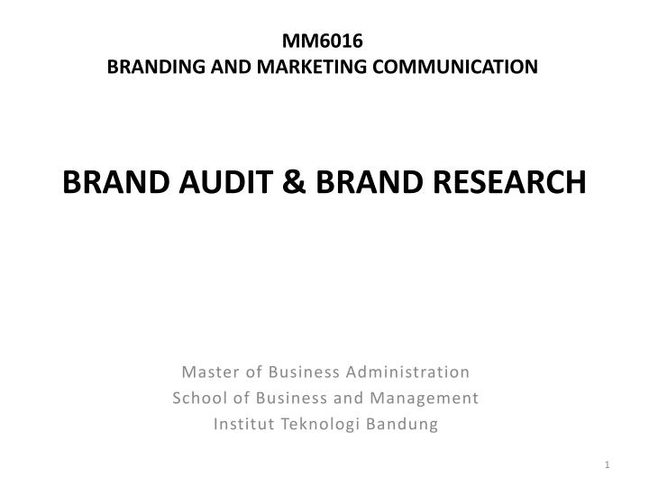 mm6016 branding and marketing communication n.