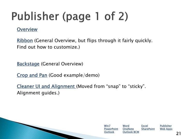 Publisher (page 1 of 2)