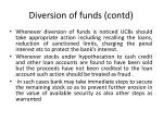 diversion of funds contd1