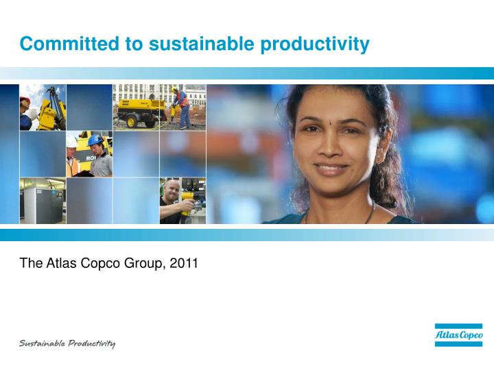 committed to sustainable productivity n.