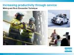 increasing productivity through service