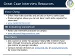 great case interview resources