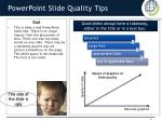 powerpoint slide quality tips