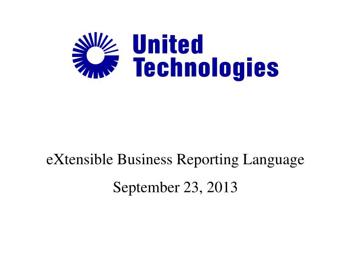 extensible business reporting language n.