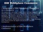 ibm websphere commerce3
