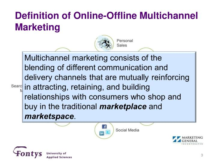 Definition of online offline multichannel marketing
