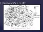 christaller s reality