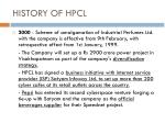 history of hpcl