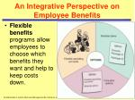 an integrative perspective on employee benefits