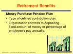 retirement benefits3