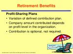 retirement benefits4